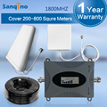 Pantalla LCD 2G GSM 4G FDD LTE de 1800 MHz Teléfono Celular Repetidor DCS 1800 Ganancia 70dB Amplificador de Señal Móvil Repetidor De Sinal Celular