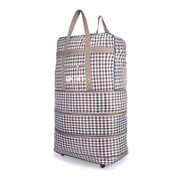 Large Capacity Waterproof Luggage Travel Bags Men Women Casual Trolley Folding Bag Tote Bag Handbag