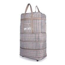 Große Kapazität Wasserdichtem Gepäck Reisetaschen Männer Frauen Lässig Trolley Falttasche Einkaufstasche Handtasche