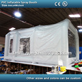 Free shipping 6m PVC tarpaulin inflatable spray booth inflatable paint booth inflatable car spray booth tent
