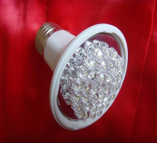 2W led spot light,E27 base;30pcs 5mm DIP LED; warm white