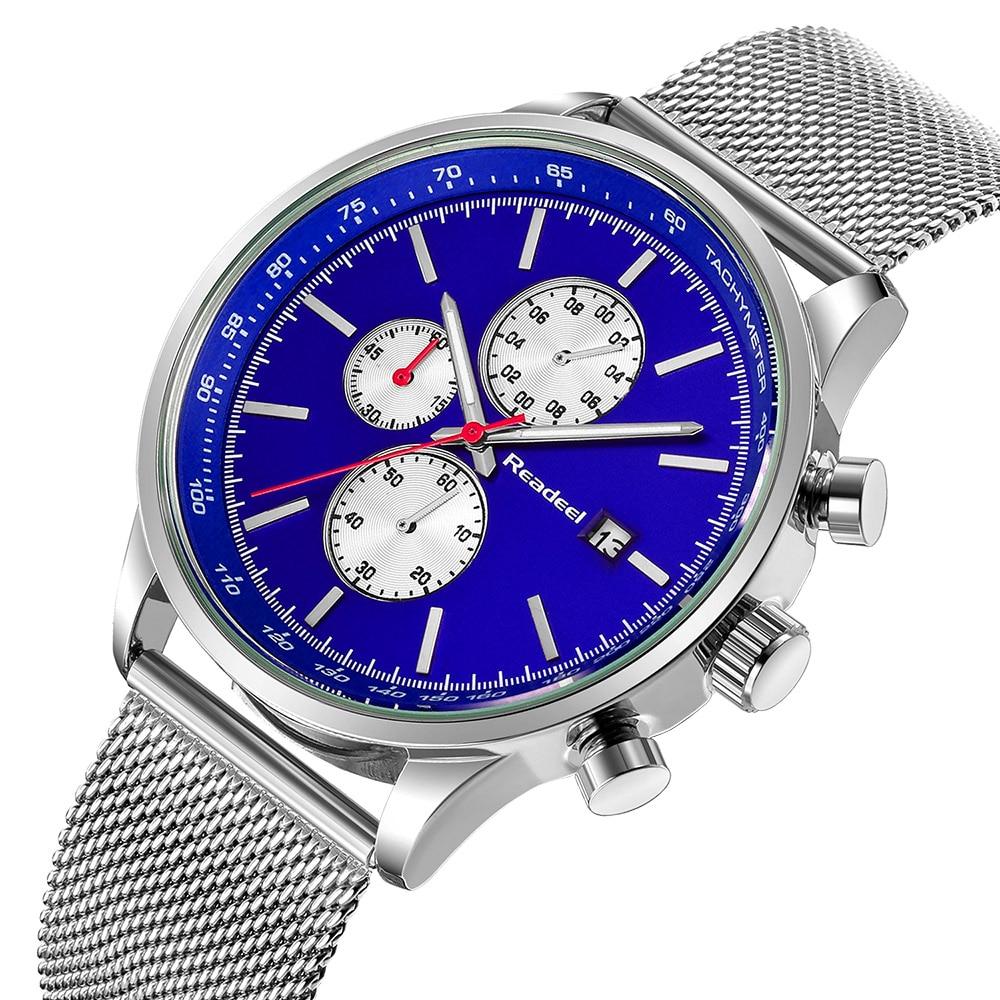 Hombres Militar Sport Relojes para hombres Marca de lujo de acero - Relojes para hombres