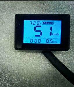 display speedometer battery level/ voltage indicating meter 24v36v48v60v72v electric bike scooter MTB trike conversion parts(China)