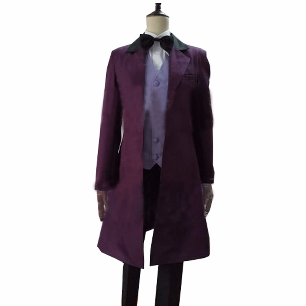 2017 Custom made Anime Who is Doctor cosplay Dr. Long Trench Coat Costume Doctor Who Tailored Costume Halloween cosplay costume