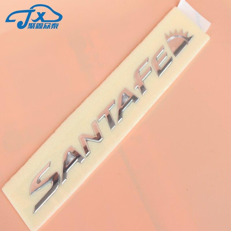 Santafe Logo Emblem Symbol Mark For Hyundai Santafe Dm All New