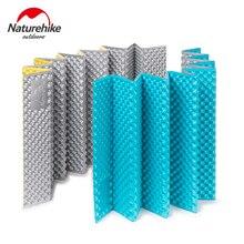NatureHike Outdoor Picnic mat Moistureproof Camping Mattress pad Aluminum Film Folding Egg Slot Yoga mat Ultralight IXPE+EVA
