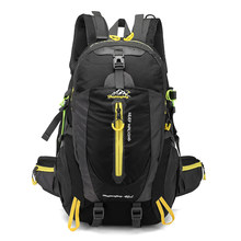 40L Waterproof Tactical Backpack Hiking Bag Cycling Climbing Rucksack Laptop Backpack Travel Outdoor Bag Men Women Sports Bag(China)