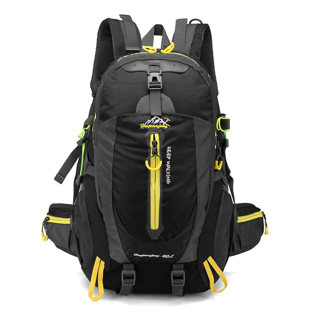 e03f39fa3694 40L Waterproof Tactical Backpack Hiking Bag Cycling Climbing Rucksack  Laptop Backpack Travel Outdoor Bag Men Women