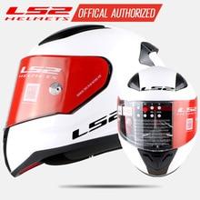 LS2 FF353 fronte pieno del motociclo del casco ABS rinforzato shell BAMBINI CASCO XS uomo donna moto da corsa casco moto ECE