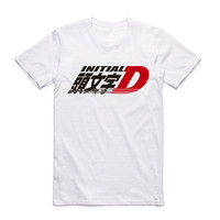 2017 Men Print Drift Japanese Anime Fashion T Shirt Short Sleeves O Neck Summer Cool Casual
