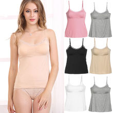 Fashion New Women Top Ladies Plain Sleeveless Strappy Cami Bralet Bra Summer Solid Tank Tops
