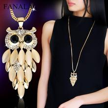 Best Artificial Sterling Silver Owl Necklace Pendant Cheap