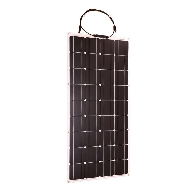 Panel Solar Flexible monocristalino de 100w