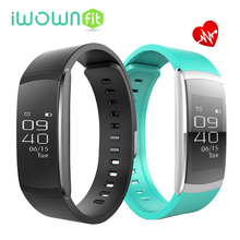 Iwownfit i6pro Smart Band Bluetooth 4.0 браслет Heart Rate Мониторы Фитнес трекер для Andriod IOS Телефон