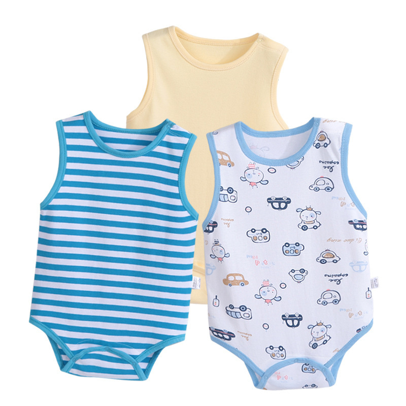 Cotton Baby Rompers Baby Boy Clothes Summer Baby Girl Clothes Roupas Bebe Newborn Baby Clothes Infant Jumpsuits Cartoon Bebe