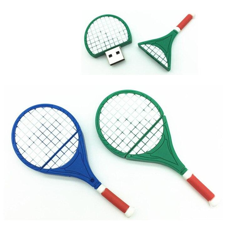 U Disk pen drive cartoon gun 4gb/8gb/16gb/32gb bulk tennis racket usb flash drive flash memory stick pendrive mini USB Flash Dri
