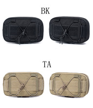 Outdoor Camping Men Nylon Molle Pouch Tactical Belt Small Pocket Military Wallet Waist Pack Travel Hunting Rifle Bag