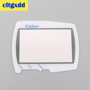 Cltgxdd защитная пластиковая стеклянная линза для экрана, замена для BANDAI для WSC для wonderswan, портативная игровая консоль, экранная линза