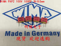 2019 hot sale 10pcs/20pcs Germany WIMA FKP2 100V 100PF 100V 101 100P 0.1nf 5% P: 5mm Audio capacitor free shipping