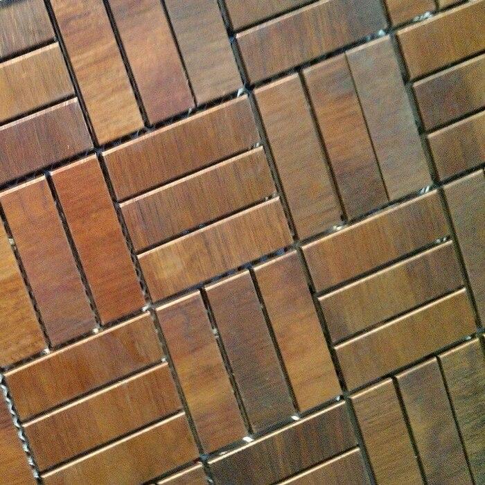 Acquista all'ingrosso online bronzo mattonelle di mosaico da ...