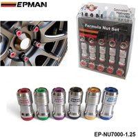 AUTHENTIC EPMAN ACORN RIM Racing Lug Wheel Nuts Screw 20 X 1 25 20PCS CAR For