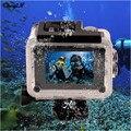 Mini 4 K Ultra HD WI-FI À Prova D' Água de 2 polegadas LTPS Tela de 170 Graus Lente Grande Angular Câmera do Capacete À Prova D' Água Ação câmera DVR85H-3233