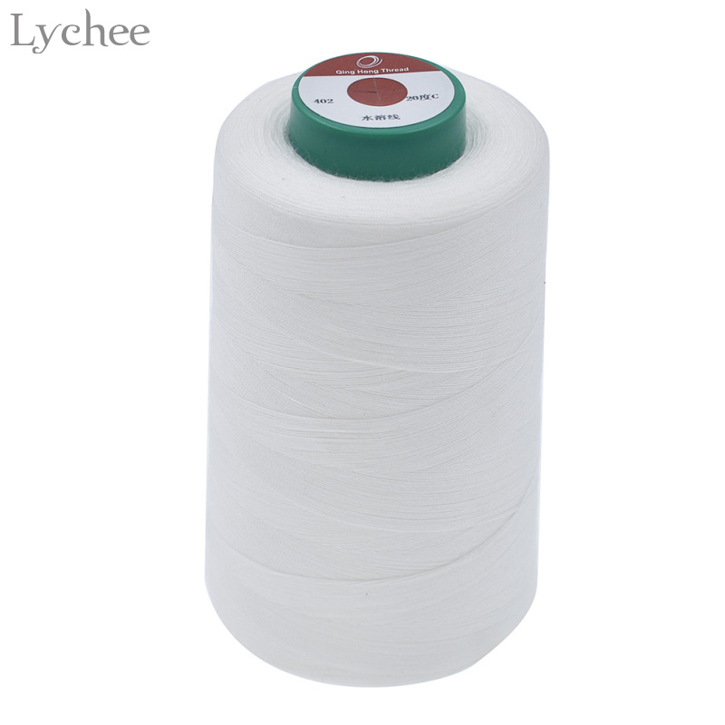 Lychee 3000m Long 40s/2 Water Soluble Sewing Thread Apparel Sewing Accessories For Clothes Embroider DIY Handmade Sewing Threads