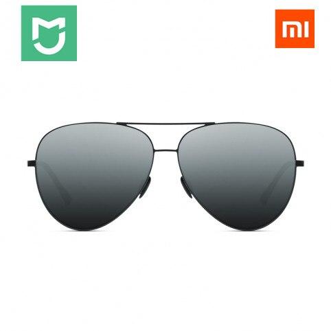 imágenes para Xiaomi Mijia Turok Steinhardt TS Marca Nylon Polarizado UV400 Gafas de Sol Lentes de Espejo Inoxidable para Viajes Al Aire Libre Hombre Mujer