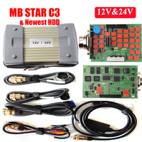 2018 Super C3 MB Star C3 Multiplexer mb sd connect compact 3 full chi with strong relay diagnostic tools software HDD diagnosis
