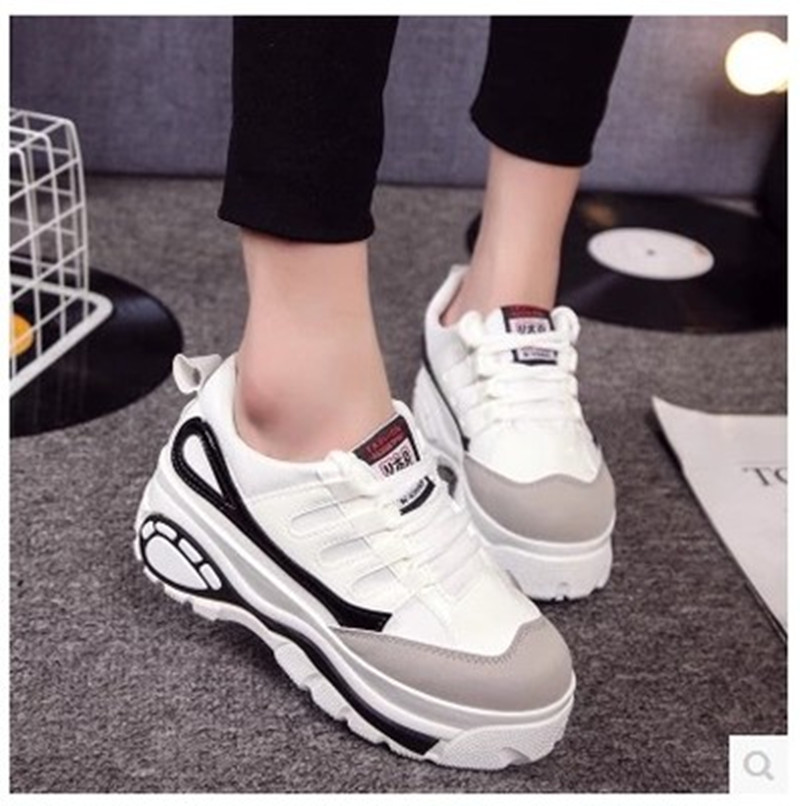 d91a956bd6d7 2018 new fashion women s crawler Japanese platform shoes breathable casual shoes  female Harajuku style net shoes-in Women s Vulcanize Shoes from Shoes on .