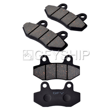 цена на Motorcycle For HYOSUNG GT125 (Naked) 2003 2004 2005 2006 GT 125 i (Naked) 2013-2015 Motorcycle Front Rear Brake Pads Brake Disks