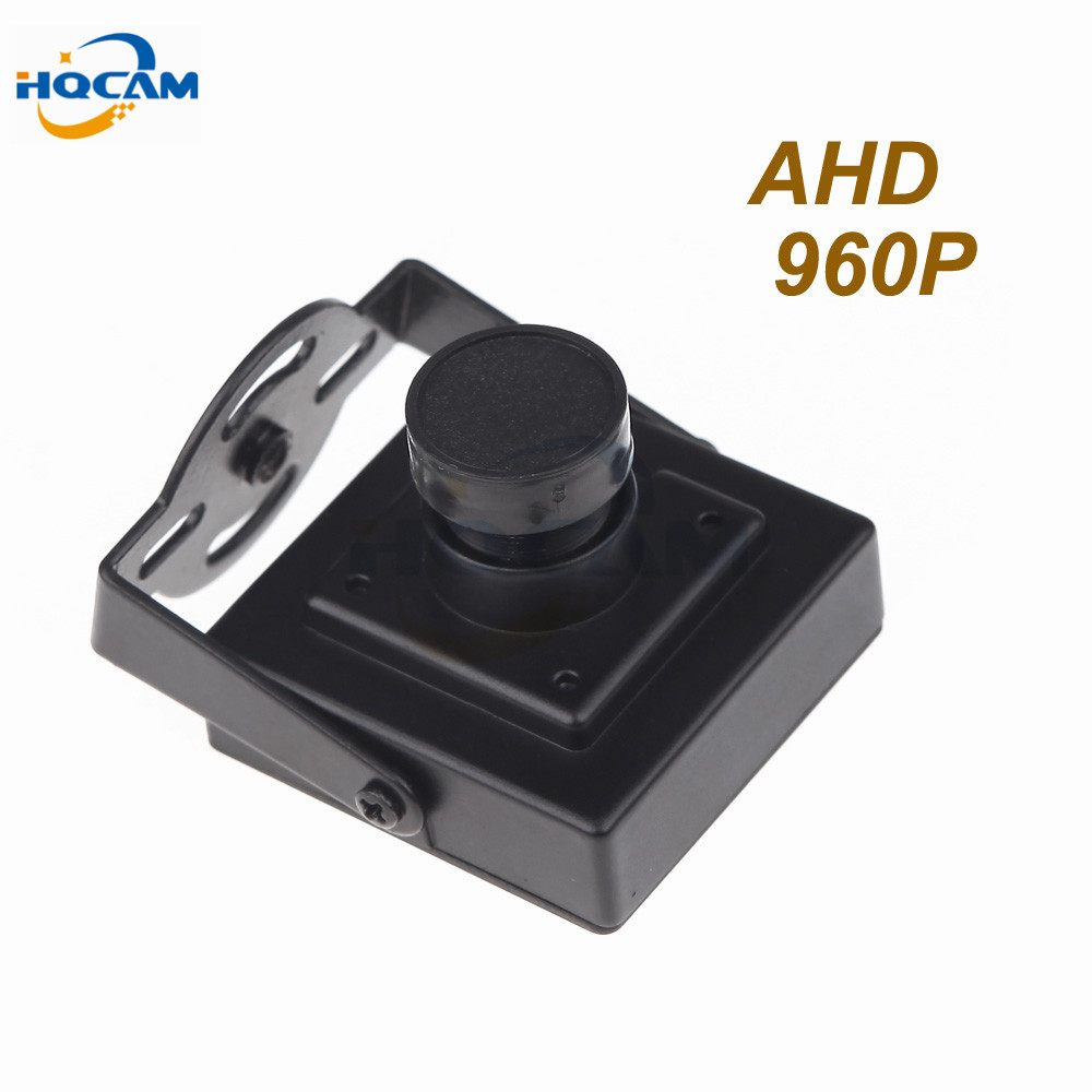 HQCAM 1200TVL Mini AHD camera 3.6mm lens 960P 1.4megapixel Mini AHD Camera CCTV security camera indoor AHD mini camera ahd ahd