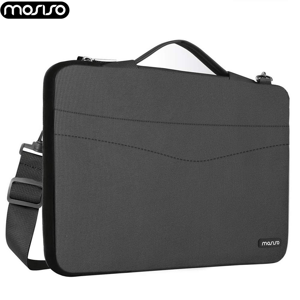 MOSISO Soft Laptop Shoulder Bag 13 13.3 Inch For Macbook/Dell/Acer/Microsoft Surface Shockproof Resistant Briefcase Carry Sleeve