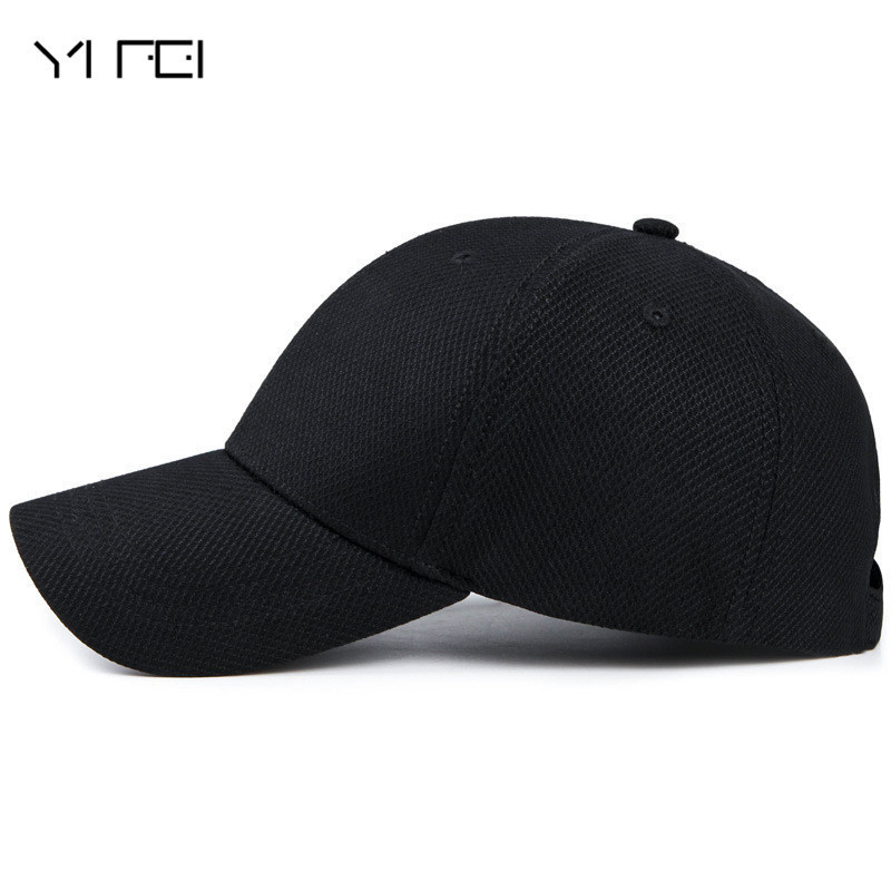 YIFEI Sun Visor Bone Casquette Gorras 2017 New Polo Hat Casual Quick Dry Snapback Men Full Cap Hat Baseball Running Cap