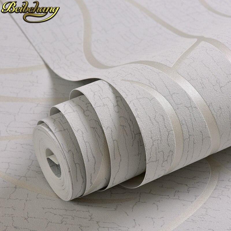 Купить с кэшбэком beibehang papel de parede 3d flooring Stripes curve wallpaper for walls 3 d wall paper for living room bedroom wallpaper modern