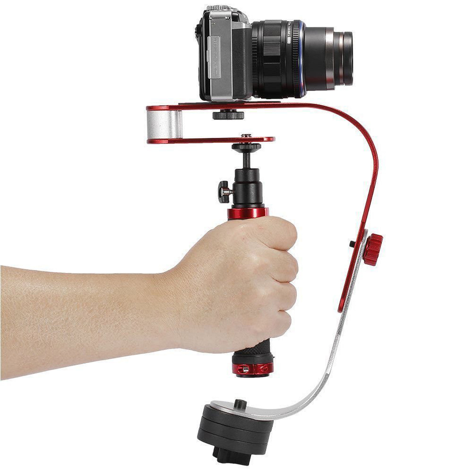 Video Camera Stabilizer With Low Profile Handle For Canon Nikon GoPro font b Smartphone b font