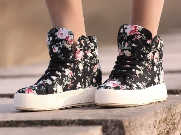 sneakers platform casual shoes