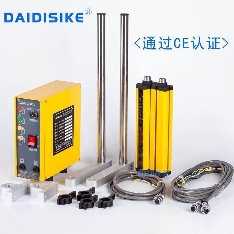Safety light  curtain bracket grating sensor 12-24V infrared hand controller motor controller punch machine  цены
