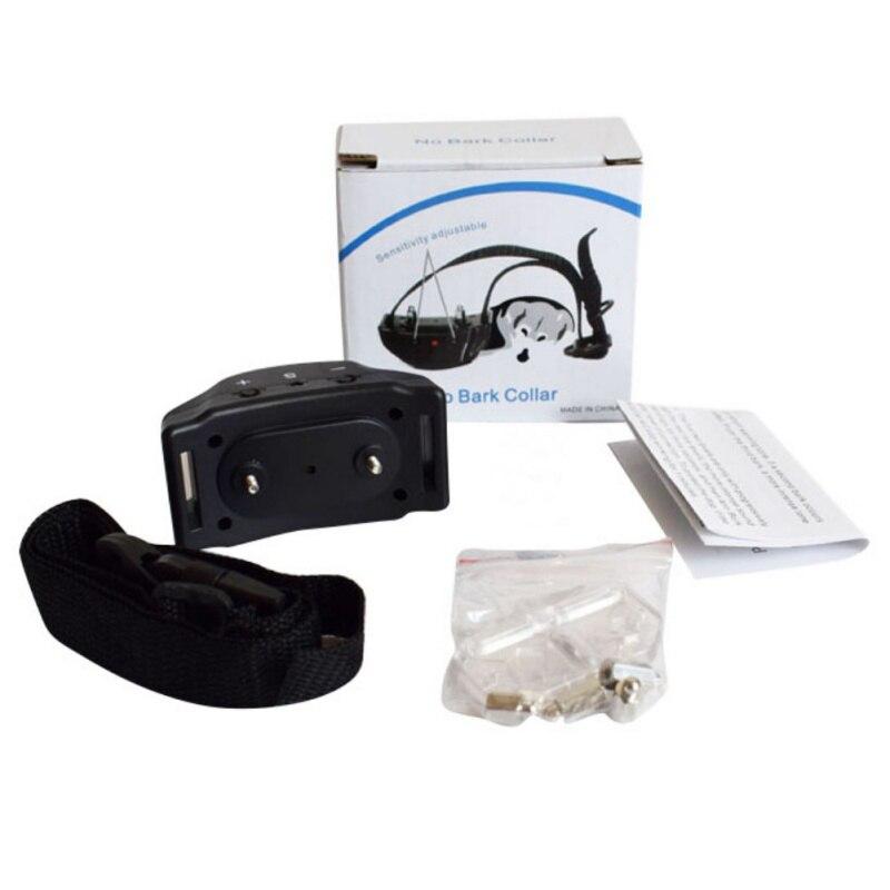 Осенние уличные Анти лай-Barking Pet Кинологический код вибрации дистанционного Воротник от поражения электрическим током