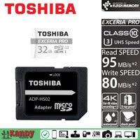 Toshiba Micro Sd Card 4K 32gb 64gb Memory Card Class 10 UHS U3 95M R 80M