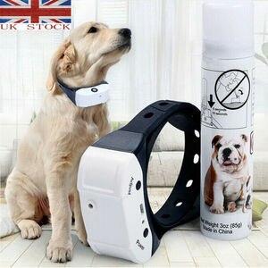 Image 2 - ペット犬充電式抗樹皮襟列車防水ストップ吠える犬防水超音波トレーニング首輪