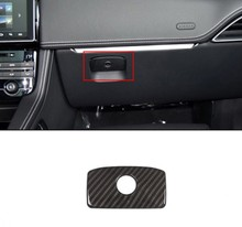 Интерьер автомобиля консоли хранения перчатки коробка ручка крышки отделочный стикер для Jaguar XE XF F-темп F темп X761