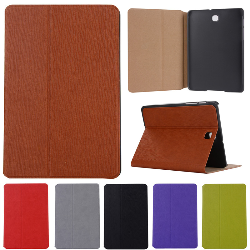 Book Leather Case Tablets Accessories Business Cover Fundas for Samsung Galaxy S2 8.0 T710 SM-T715 T715 PU Stand Cases Capa