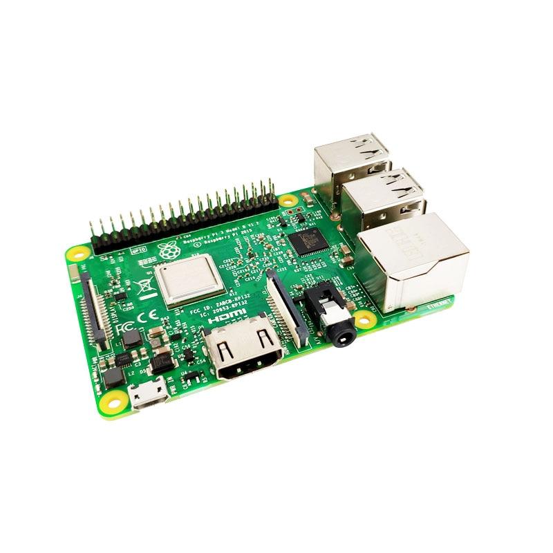 Original Raspberry Pi 3 Modelo B, Modelo B +, Raspberry Pi Raspberry Pi3 B Plus Pi 3 Pi 3B con WiFi y Bluetooth - 3