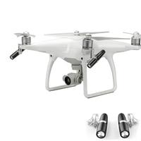 LED Lamp Light for DJI Phantom 4 / 4 Pro Plus Drone Accessories 360 Degree Whirling Night Flight Searching Light