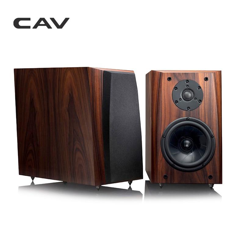 CAV FL 30 High End Bookshelf Speaker Full Handmade Wood Veneer High Fidelity HI FI Speaker Professional Wooden HIFI Speakers