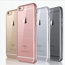 Transparent Clear White Case Cover For iPhone 7 4.7 inch Silicon Gel TPU Ultra Thin Mobile Phone Cases For iPhone 7Plus 5.5 inch