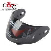 free shipping Original SEMIR rs-2 anti-fog lens Marushin full face helmet visor 999RS  999NS  RS3 401RS