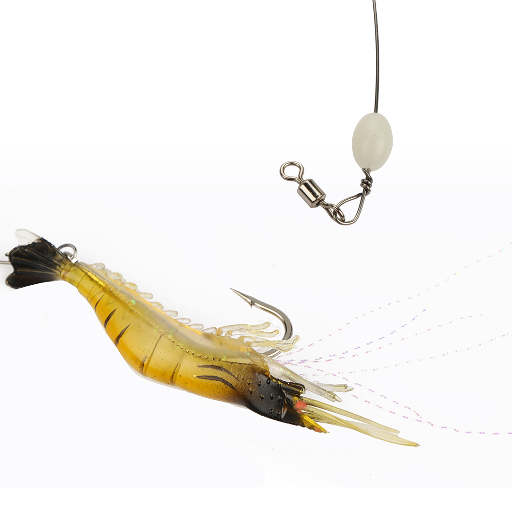 Goture 5pcs Soft  Silicone Shrimp Bait  5