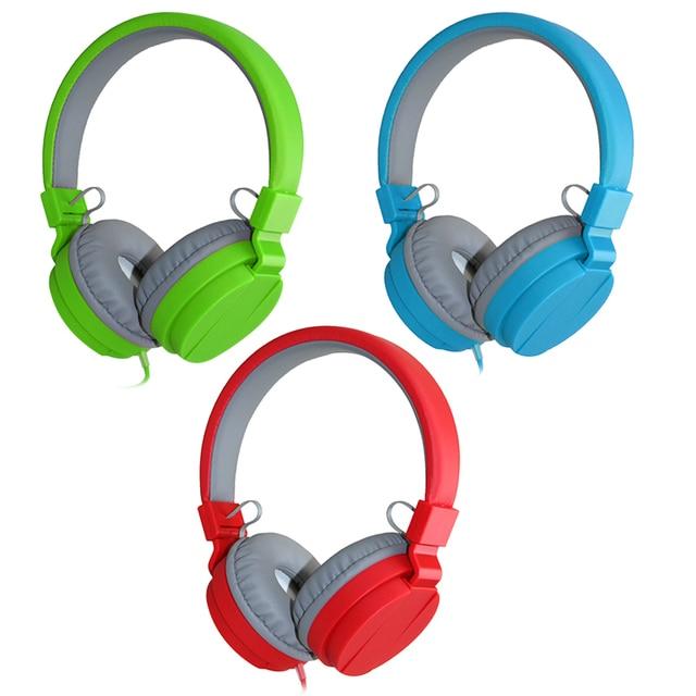 Promo Mode Niedlichen Kopfhörer Candy Farbe Faltbare Kinder ...